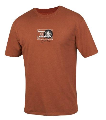 prAna–Herren Acht hören T-Shirt, Herren, Tribal Red