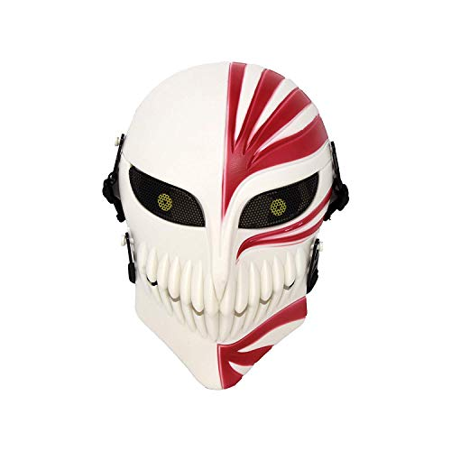 Royala CS Schutz Skelett Maske Bleach Ichigo Kurosaki Halloween Cosplay Film Thema Harz Maske Venezianischen Karneval Maskerade Geburtstagsgeschenk