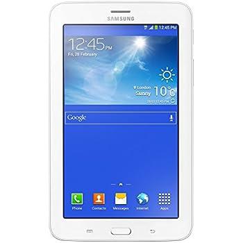 """Samsung Galaxy Tab 3 Lite SM-T116, Display  7.0"""" UMTS Wi-Fi, Bianco [Italia]"""