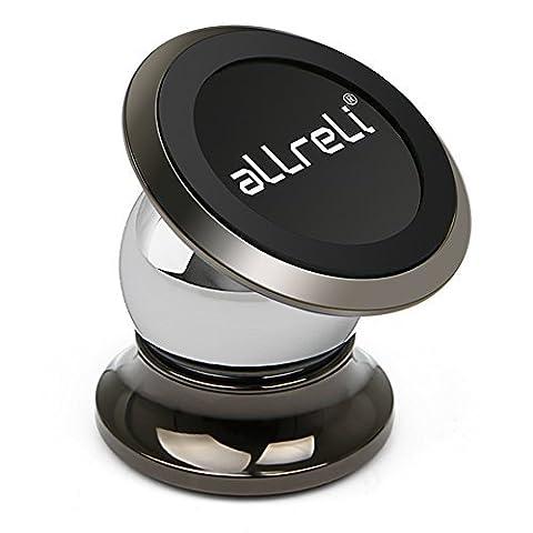 Handyhalterung KFZ Magnet, aLLreLi Universal Auto Halterung Halter für iPhone 7 / 6s / 6 / 5s / 5, Samsung und jedes andere Smartphone oder GPS-Gerät…