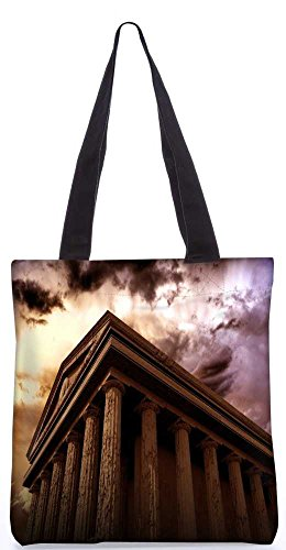 Snoogg Tote Bag 13.5 X 15 Inches Shopping Utility Tote Bag Made From Polyester Canvas