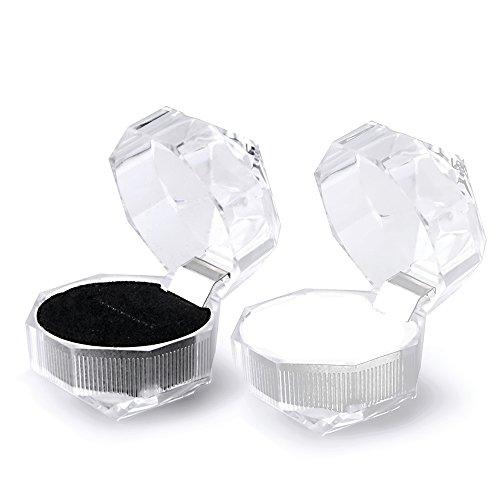Vococal-10-piezas-Caja-Almacenamiento-Pantalla-Organizador-de-Casos-Cuadro-de-Acrlico-Transparente-para-Pendientes-de-Joyera-de-Anillo