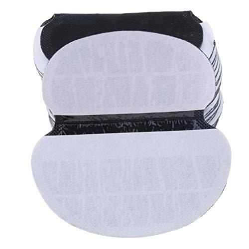 IPOTCH 50 Pcs Cuscini Monouso Abbigliamento Ascelle Protezione Donna Accessori Nero