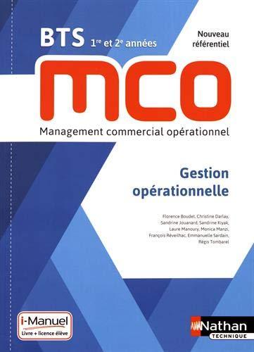 Gestion opérationnelle BTS MCO 1re et 2e années
