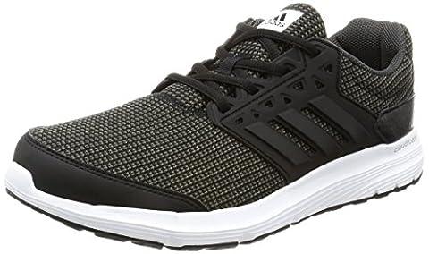 Adidas Men's Galaxy 3.1 Training Shoes, Black (C Black), 8