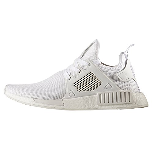 adidas NMD_XR1 PK W, BY9922, BY9921. Noir et blanc Sneaker avec la technologie Boost. Chaussures pour homme. White/white