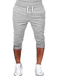 7b25797e40c0 Vêtements de Sport décontractés Homme d été Gym Workout Jogging Shorts  Pantalon ...