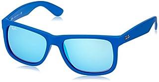 Ray-Ban - Lunette de soleil RB4165 Justin Wayfarer, Blue (608855 608855) (B00I3Q31U4)   Amazon price tracker / tracking, Amazon price history charts, Amazon price watches, Amazon price drop alerts