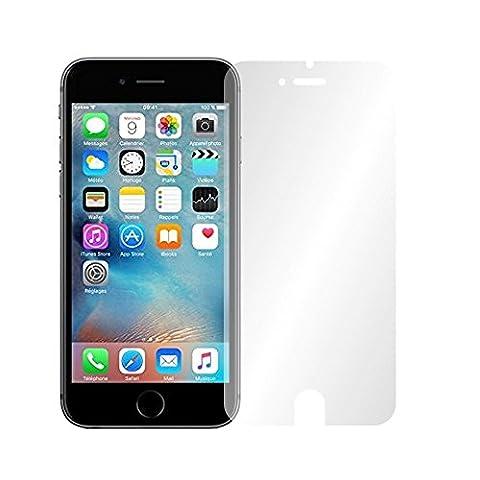 4 x Slabo Film de protection d'écran iPhone 6S protection écran film de protection film (la taille des films est réduite à cause d'un écran bombé)