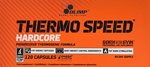 Olimp Thermo Speed Hardcore Mega Capsules Fat Burner Supplement