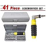 STR AIWA 41 in 1 Multipurpose Tool Kit Screwdriver and Socket Set, Grey