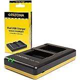 Patona USB Dual chargeur 1948 pour batterie Olympus BLS-5 BLS-50 BLS-1