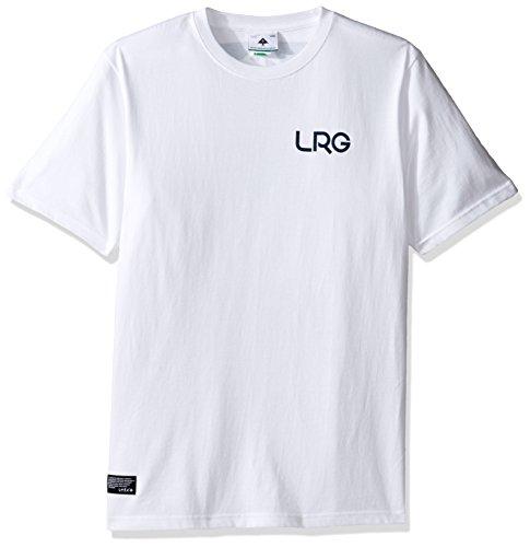 L-R-G Herren T-Shirt Weiß