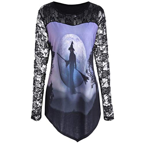 (ITISME TOPS Männer Frauen Modus 3D Print Langarm Halloween Paare Hoodies Top Bluse Shirts)