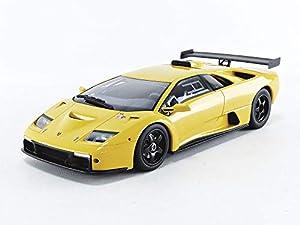 Kyosho GTS18509Y - Coche en Miniatura de colección, Color Amarillo