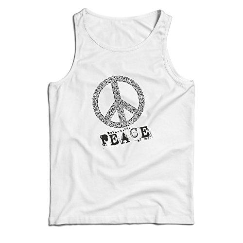 t Du Stück von Mir - Frieden Slogan, 60er 70er Hippie - Hippie Festivals, Hipster Swag (X-Large Weiß Mehrfarben) (Mama Und Mir Kostüm)