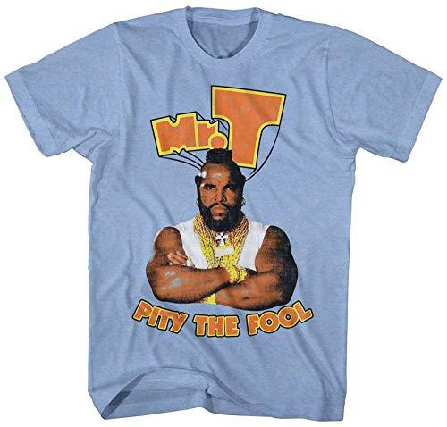 . T- Pity The Fool T-Shirt S - Blau ()