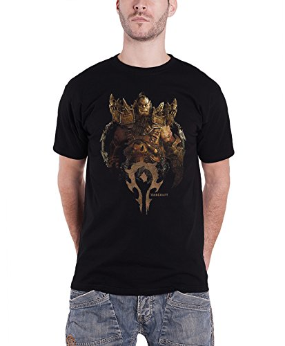 World Of Warcraft T Shirt officiel Blackhand Compilation nouveau Homme Noir