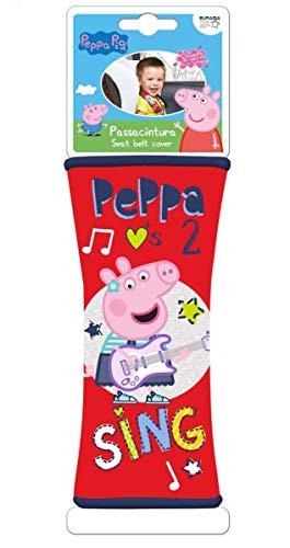 Peppa Pig Beby Soft Seat Belt Cover - Soft-close Seat-cover