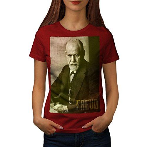 Geld Kostüm Juden - wellcoda Berühmtheit Sigmund Freud Frau T-Shirt Berühmt Lässiges Design Bedrucktes T-Shirt