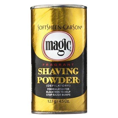 Magic Shaving Powder Gold Fragrant Case by DDI