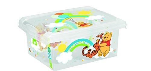 Juego de 2Fashion Box Disney Winnie The Pooh 20L + 10L Caja Caja para juguetes