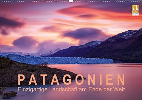Patagonien: Einzigartige Landschaft am Ende der Welt (Wandkalender 2020 DIN A2 quer): Berühmte Berge und mächtige Gletscher im einzigartigen Licht (Monatskalender, 14 Seiten ) (CALVENDO Natur)