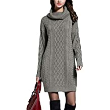 Amazon.fr   Robe Pull Laine 9cd9f181f82