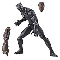 "Marvel Legends Series 6"" Black Panther Figure, Brown"