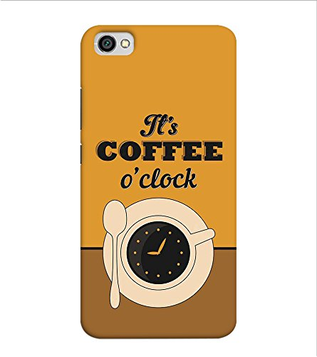 OBOkart Coffee Break 3D Hard Polycarbonate (Plastic) Designer Back Case Cover for Xiaomi Redmi Y1 Lite