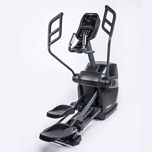 Fuel Fitness EC1000 Crosstrainer, für zuhause, HIIT-Trainer, natürlicher Bewegungsablauf. gelenkschonendes Training, Ganzkörperworkout, Induktionsbremse mit Watt-Steuerung, KINOMAP, inkl. Brustgurt