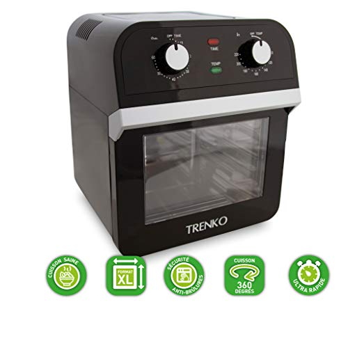 TRENKO - AIRFRYER OVEN POWER - 5 en 1 - MULTIFONCTIONS...