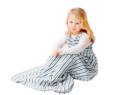 Merino kids sacco nanna invernale per bambini 2-4 anni, mint/banbury