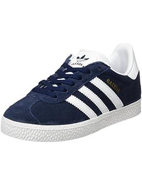 adidas - Gazelle, Zapatillas Unisex Niños, Azul (Collegiate Navy/Footwear White/Footwear White 0), 30.5 EU