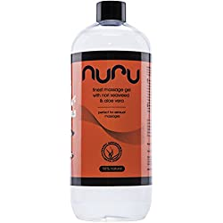 Nuru®, Gel de massage, 1 bouteille, 1000ml, 1 litre