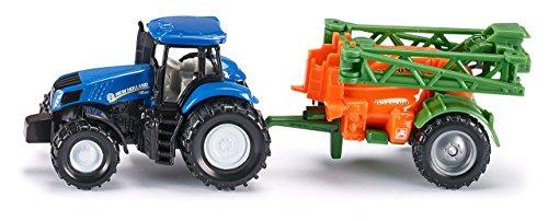 Siku - 1668 - Véhicule Miniature - Modèle À L'Échelle - Tracteur Avec Épandeur - Echelle 1/64 4006874016686