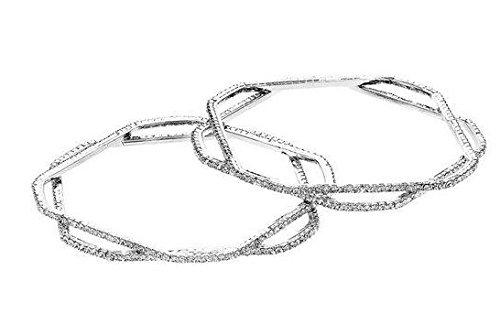ottaviani-collier-multi-bangle-47352-white