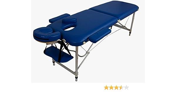 de Alu 10kg d'accessoiresbleu Table Massage Luxepliante Confortbeaucoup b6g7yfY