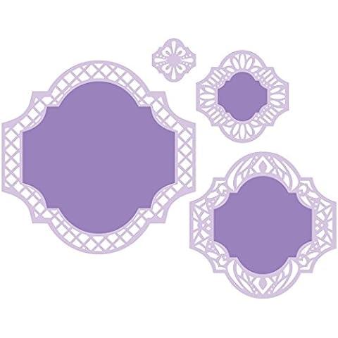 Spellbinders S4-470 Nestabilities etichette Forty-One Elementi decorativi