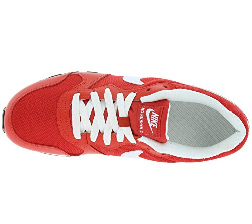Nike Md Runner 2 (Gs), Chaussures de Running Entrainement Homme Rojo (Rojo (university red/white-team red-black))