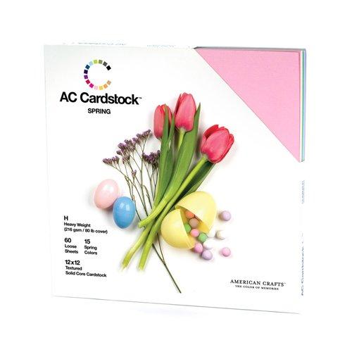 american-crafts-seasonal-cardstock-pack-12-x-12-inch-pack-of-60-spring