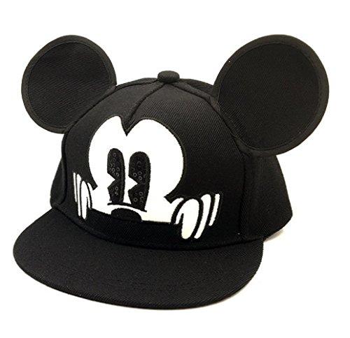Inception pro infinite (nero cappello - baseball - hip hop - bambini - regolabile - visiera - estivo - berretto - protezione solare - 2-7 anni