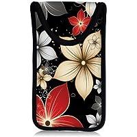 MySleeveDesign Smartphone Hülle Handy Tasche (u.a. passend für Samsung Galaxy S4 & S5 mini , HTC one , Sony Xperia Z1 Compact & Z3 Compact uvm.) - VERSCH. DESIGNS - Red Flowers