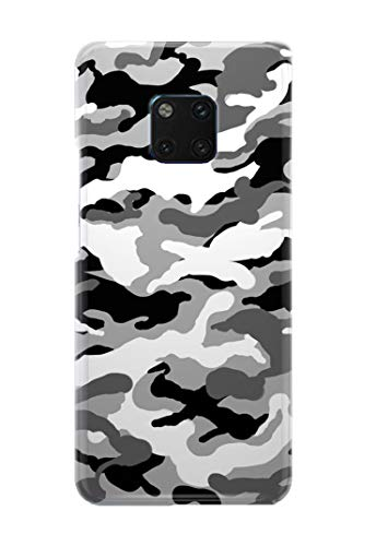 Case Me Up Handy Hülle für Huawei Mate 20 PRO Camo Camouflage Army Green Brown Blue Pink 9 Designs Mate, Camo