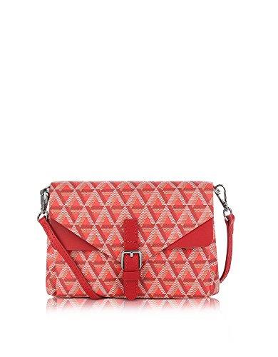 lancaster-paris-mujer-51841rouge-rojo-lona-clutch
