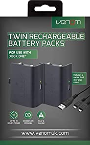 Venom Rechargeable Battery Twin Pack for Xbox One - Black
