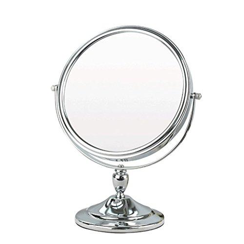 Miroir De Table Miroir Grand Miroir De Beauté Double Face Miroir De Princesse Miroir Portable Miroir En Métal Miroir Ultra-haute définition N'est Pas Facile À La Rouille Dégâts Xuan - worth having