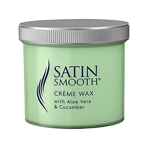 Satin Smooth Creme Wax with Aloe Vera and Cucumber 425g by Babyliss Pro