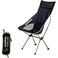 Silla de camping ultraligero taburete portátil plegable playa asiento para al aire libre senderismo barbacoa Touring pesca viajar mochila, dorado