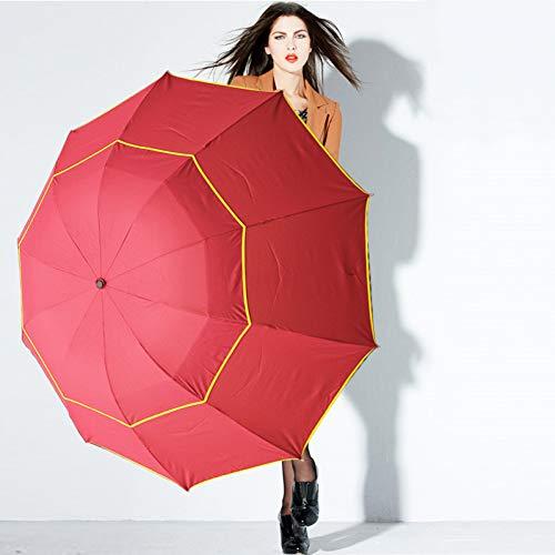 HAITAOSHUAI 130 cm Gran Paraguas Hombres Lluvia Mujer